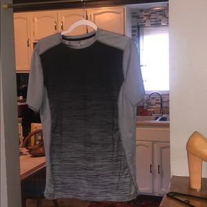 Grey and Black Under Armour T-shirt